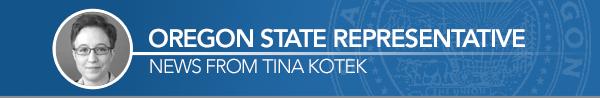 Tina Kotek Banner