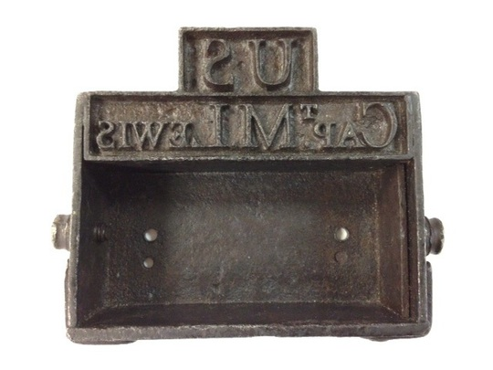 Lewis branding iron