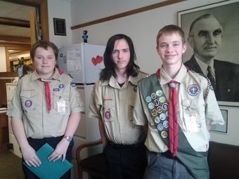 St H Boy scouts