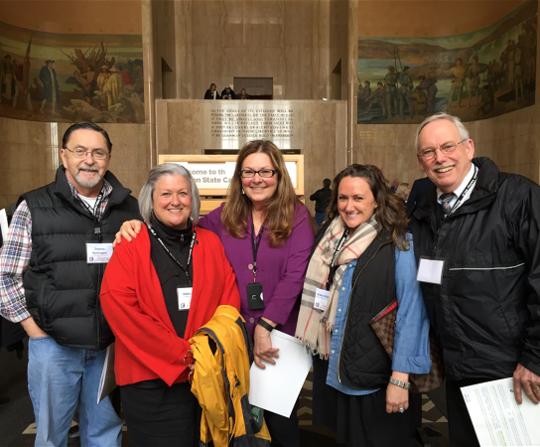 Clatsop County Realtors Visit Capitol