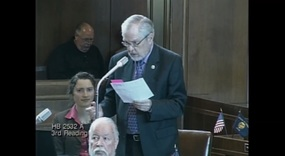 Senator Monroe carries a reverse mortgage truth in advertising bill.