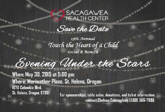 Sacagwea Benefit 2015