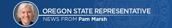 Representative Pam Marsh