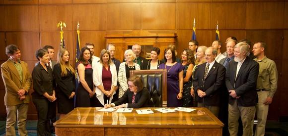 SB3 Bill signing