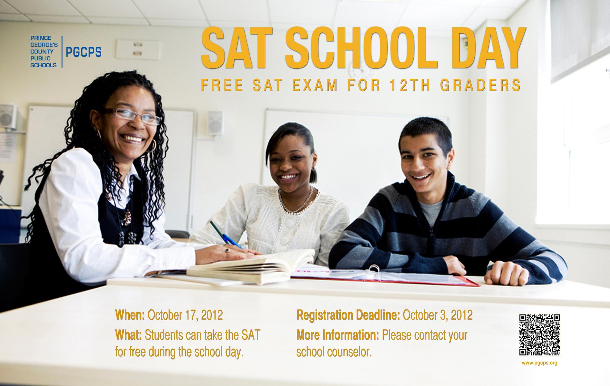 SAT School Day Info
