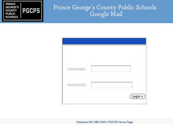 Accessing pgcps email and changing your password