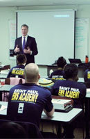 EMS Academy - Mayor speaks