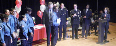 EMS academy graduation