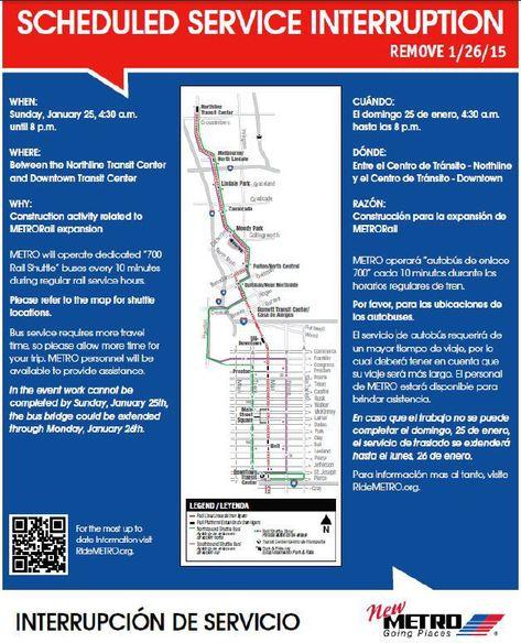 Scheduled Service Interruption for 1.25.2015