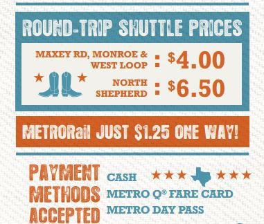 Make METRO your ride to the rodeo