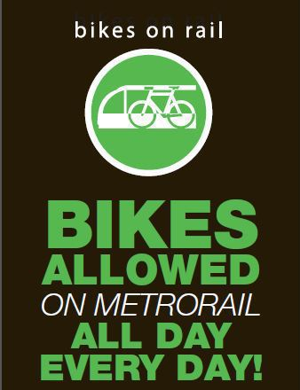 Bring It On! Bikes On Trains Allowed All Day