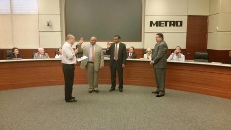 New Board members sworn in