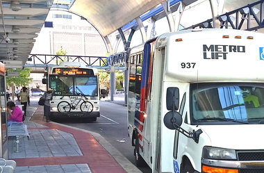 Summer day at Downtown Transit Center