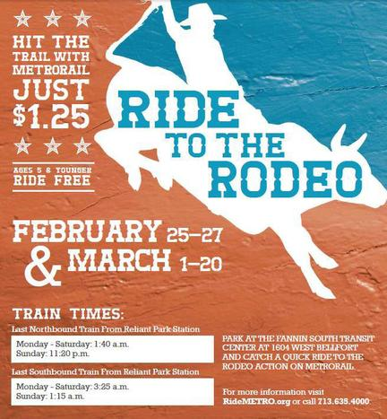 Rodeo Rail Service Poster