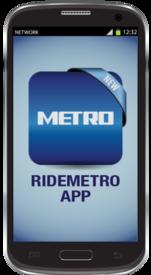 RideMETRO app