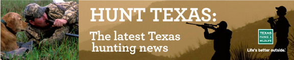 Hunt Texas E-newsletter header