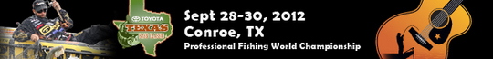 Toyota Texas Bass Classic 2012 promo