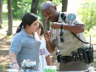 game warden teaching 2 kids