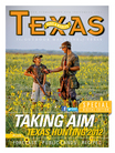 man, boy in field, Texas Hunting 2012 cover
