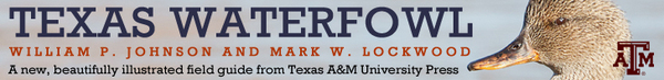 Ad: Texas Waterfowl, Texas A&M Univ. Press