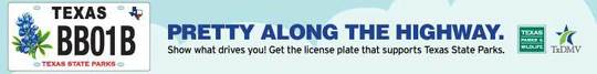 Ad Buy a Bluebonnet License Plate