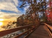 1st prize - bridge across water at sunset
