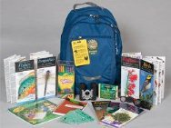 junior ranger backpack and contents