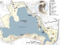 trail map illustration