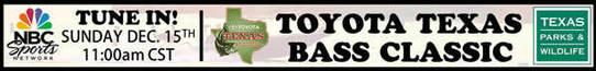 ADV Watch Toyota Texas Bass Classic show