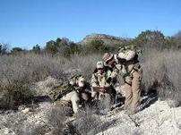 game wardens in camo, in desert