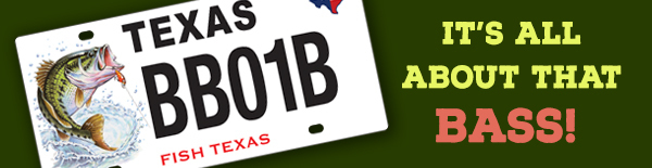 You asked to be notified about the new bass plate for What do you need to get a fishing license