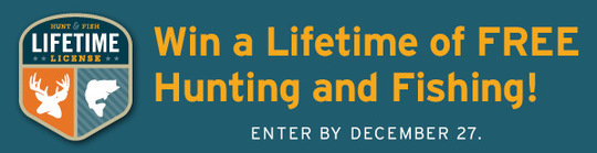 Win a lifetime license for Kansas lifetime fishing license