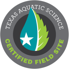 Texas Aquatic Science Science Certified Field SIte Logo