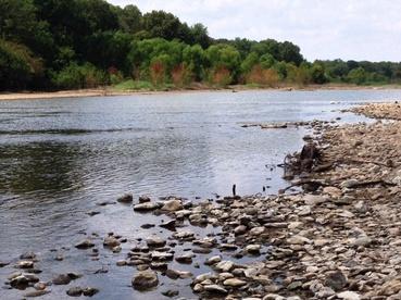 Brazo's River scene