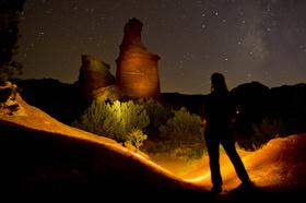 Night hike at Palo Duro Canyon