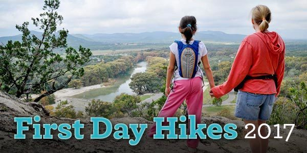 First Day Hikes email header