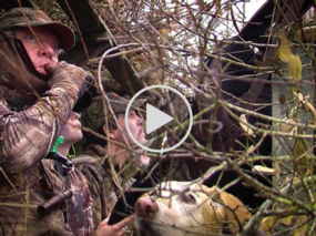 hunters with dog on Waterfowl Adventure