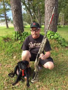 BTTH duckhunts winner with retriever puppy