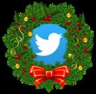 twitter wreath