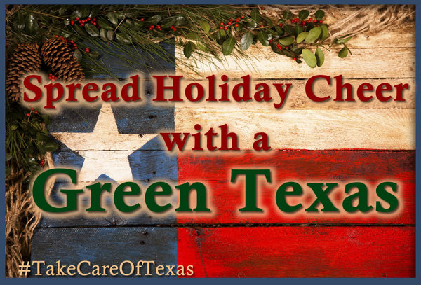 Opening Message: Spread Holiday Cheer with a Green Texas