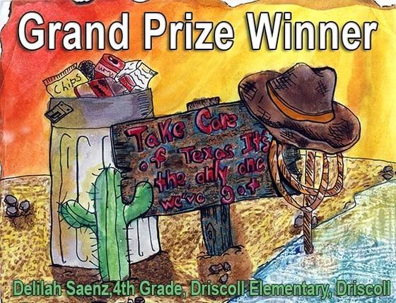 Grand Prize Winner Kids Art Contest