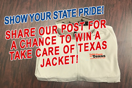 Win a Take Care of Texas Jacket