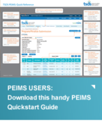 PEIMS USERS: Download this handy PEIMS Quickstart Guide