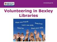Volunteer at your local libraries