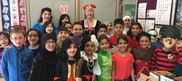 Pupils at Dixons MarchBank Primary School celebrate World Book Day
