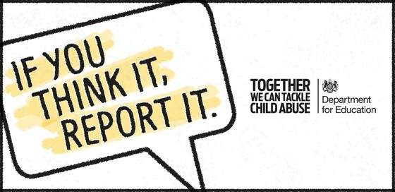 If you think it report it campaign