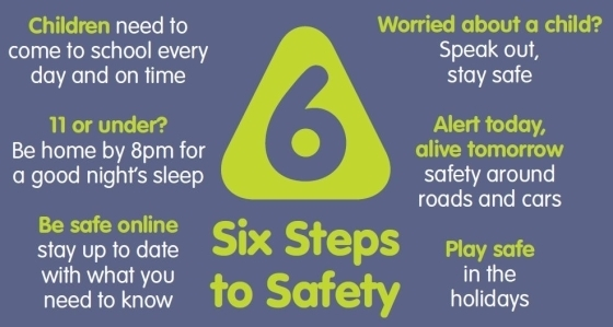 Six steps to safety