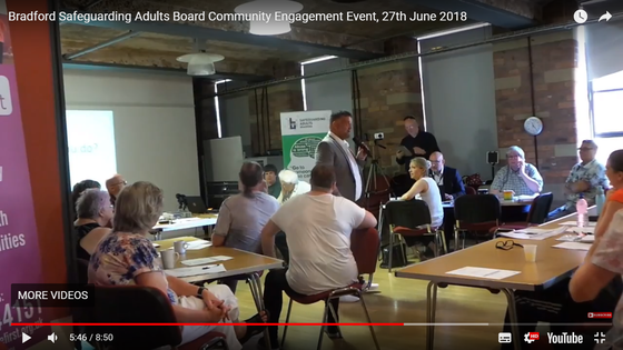 Adult Safeguarding Consultation