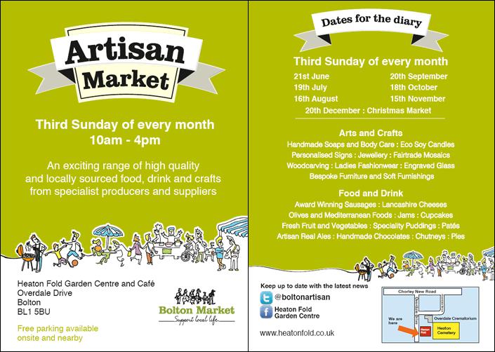 Artisan Market flyer