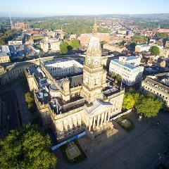 Town Centre Aerial Shot